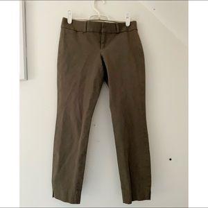 Banana Republic || Sican Fit Cropped Brown Pants